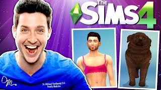 Doctor Mike's Sims Makeover ft. Kelsey Impicciche