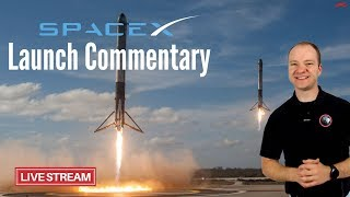 Live Launch Commentary | SpaceX Falcon 9 | Paz & Starlink Demo (Feb. 21) thumbnail