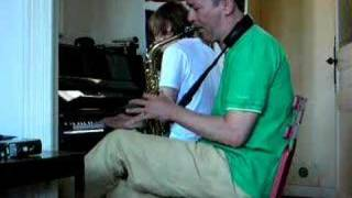 David Bowie Changes Piano Saxo
