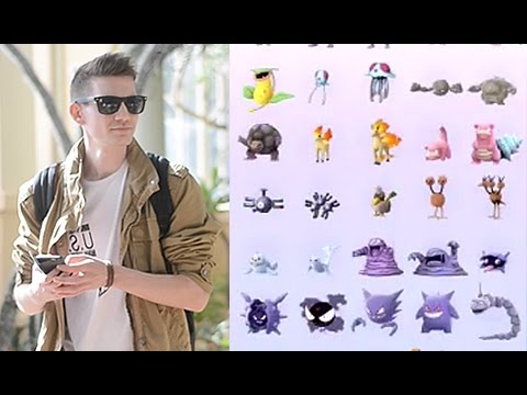 Seeing A Complete Pokemon GO Pokedex!