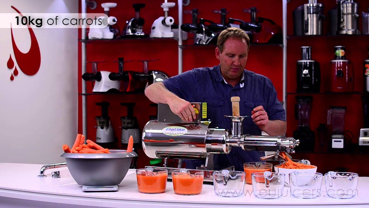Angel Slow Juicer Review : Angel Juicer Commercial 20K - Mini - YouTube