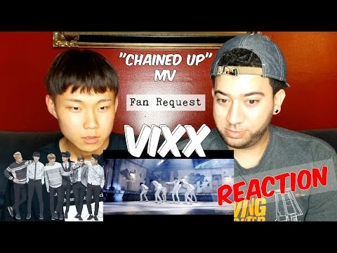 VIXX Chained Up MV REACTION K-POP