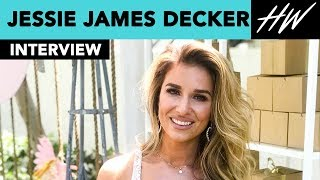 Jessie James Decker Reveals Eric Deckers #1 Rule For Her & Talks Her Festival Essentials | Hollywire