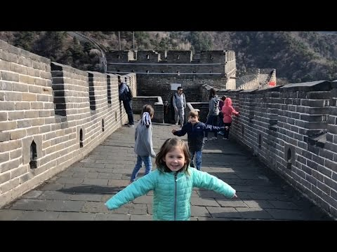 China with Kids: Beijing - Part 1 of the Walton Family China Vacation - Spring Break 2017
