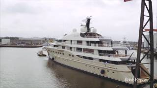 The Dutch Launch a Superyacht Dubbed Here Comes the Sun
