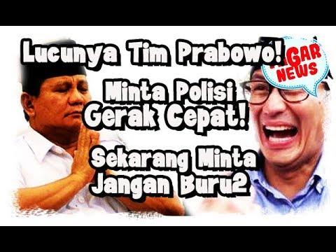 Lucunya Tim Prabowo Minta Polisi Tak Tergesa Soal Tersangka Baru Kasus Ratna, Takut