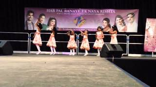Kala mandir music school students ankita, linee, preeti, shrusti, sweety and sheya present o my friend ganesha (dance on their recorded voice), & chore...