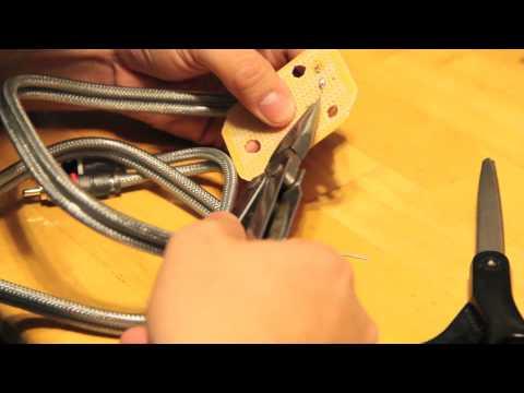 Technics Tuneup Part VIII: Tone Arm Wiring