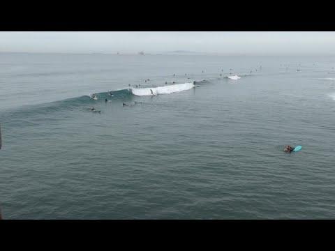 Huntington Beach, CA, Surf, 12/29/2019 AM - Part 3