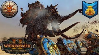 UNLEASH THE MAMMOTH - Norsca vs. Dwarfs - Total War Warhammer 2 thumbnail