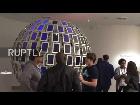 USA: Google shows off latest creations at New York pop-up store