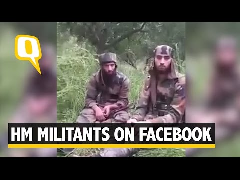 Kashmir Militants Don Indian Army Uniform, Post Video on Fac