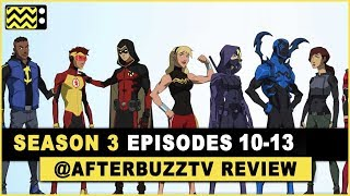 Young Justice Season 3 Episodes 10 - 13 Review & After Show