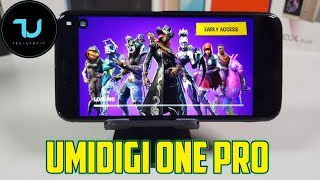 Umidigi One Pro Fortnite Gameplay/PC Game on Android/Vortex App/Helio P23
