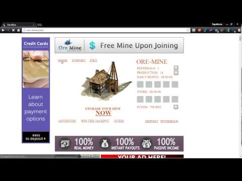 Инвестиции сатоши биткоин  Игра с выводом денег OreMine
