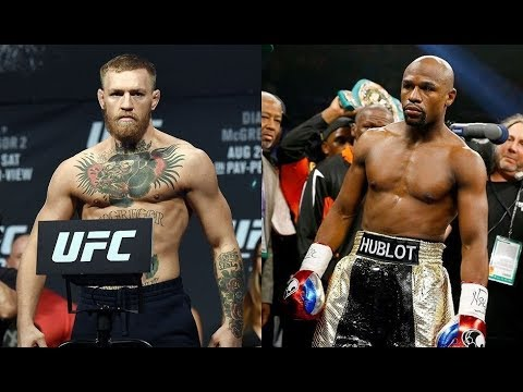 Download Youtube: FLOYD MAYWEATHER  vs  CONOR MCGREGOR {WEIGH IN] before superfight