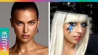 Irina Shayk imita descaradamente a Lady Gaga