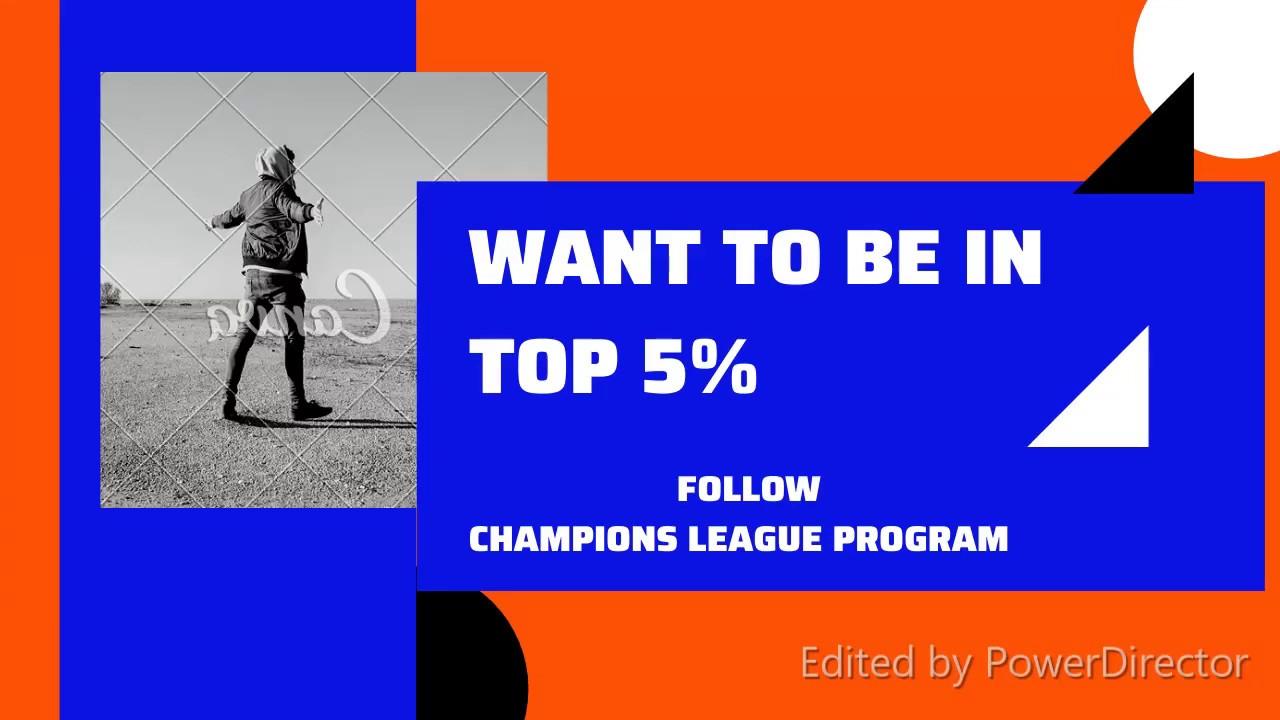Program Champions League