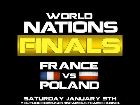 [I4L] BF3 | LIVE | France vs [TPL] Poland - World Nations Tour - Finals | PS3