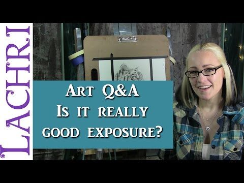 Art Q&A which opportunities are worth taking - artist tips w/ Lachri