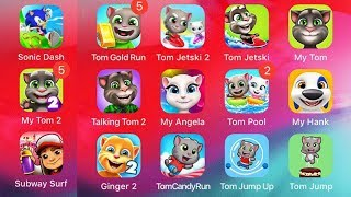Talking Tom Pool - Puzzle Live Game For Kid