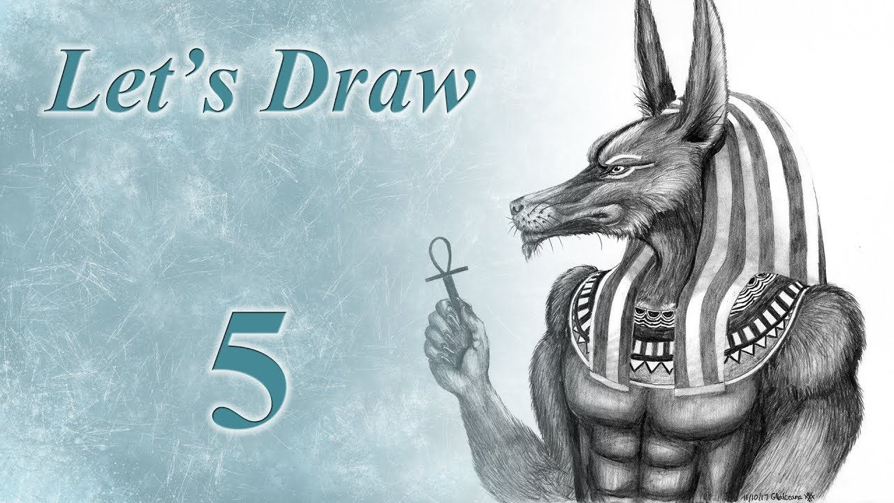 0386b58f4 Let's Draw : Anubis - YouTube