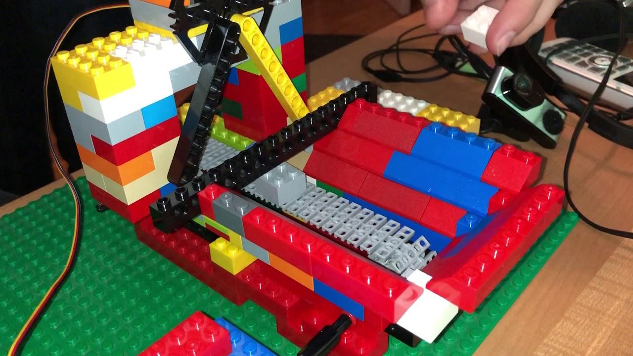 Lego Sortiermaschine V10 Youtube