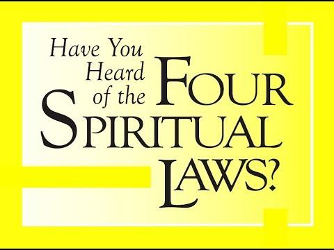 four spiritual laws sermon