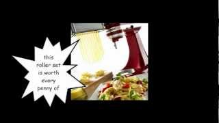 +++ Watch It!!! Kitchenaid Kpra Pasta Roller Attachment For Stand Mixers Review