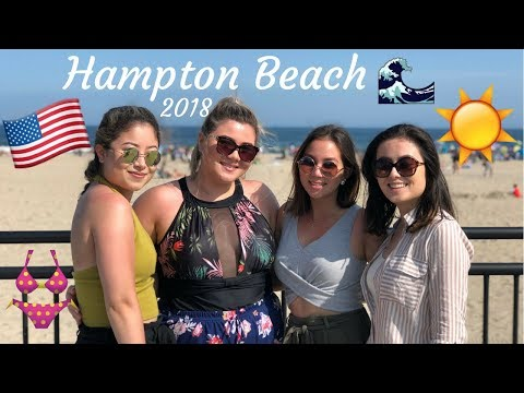 HAMPTON BEACH VLOG