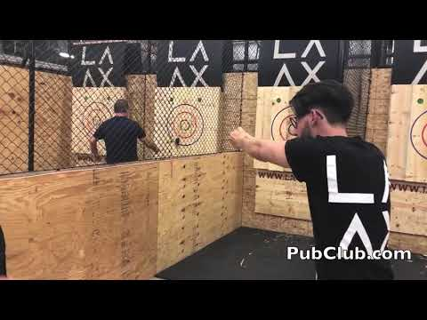 Is This The Worst Axe Throw Ever At LA AX!?