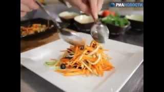 Рецепт. Морковно-яблочный салат для здоровья глаз