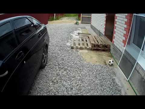 отсыпка ограды щебнем фракция 20-40. 8 тонн.