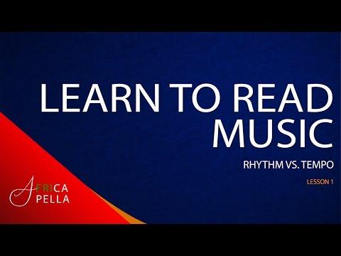 Master Music Theory - Rhythm vs. Tempo