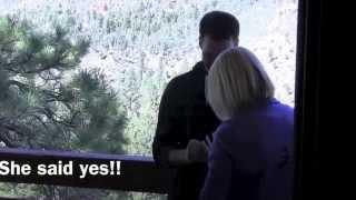 Jocelyn and Bryan's Proposal - Mt. Charleston October 5th, 2013