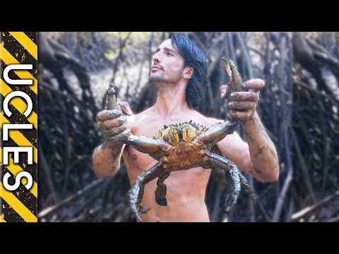 Mud Crab and Goanna Caught in Tidal Zone with Andrew Ucles