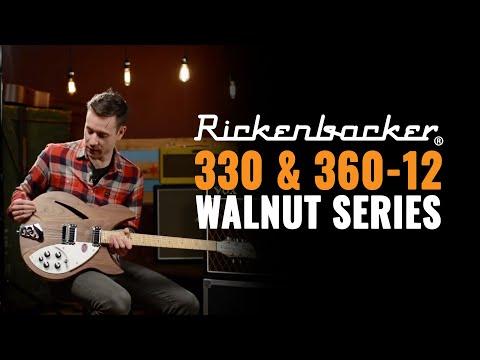 Rickenbacker 330 & 360-12 Walnut Series
