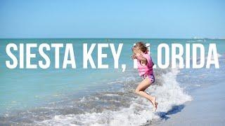 BEST BEACH IN AMERICA? Our Siesta Key, Sarasota FL Family Beach Vacation Vlog