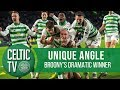 🎥 UNIQUE ANGLE: Celtic 2-1 Hamilton   BROONY'S 92ND MINUTE WINNER!
