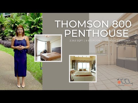 Singapore Condo Property Listing - Thomson 800 4 Bedder Condo Penthouse For Sale