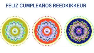 Reedkikkeur   Indian Designs - Happy Birthday