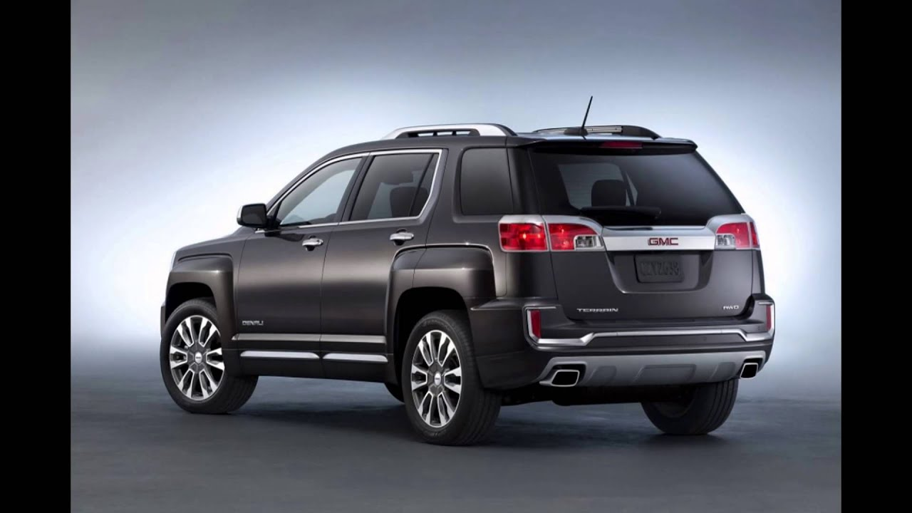 2016 2017 gmc terrain compact suv first look road test. Black Bedroom Furniture Sets. Home Design Ideas
