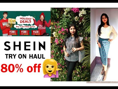 SHEIN Try On Haul 2018 Holiday Sale|Parna's Beauty World