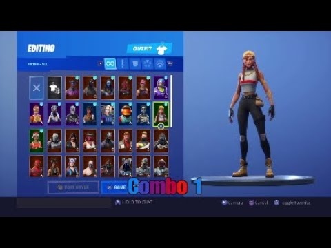 Best Combos For The Aura Skin Fortnite Youtube