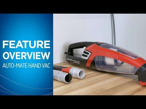 How to Use the BISSELL® Auto-Mate® Cordless Hand Car Vac