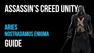 Assassin's Creed Unity Walkthrough Aries Nostradamus Enigma Gameplay Let's Play
