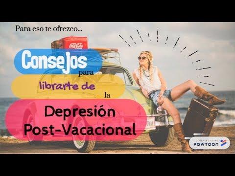 Supera La Depresión Post Vacacional #CapsulasInspiradoras15
