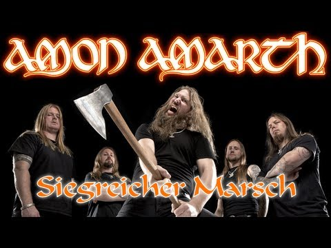 Amon Amarth - Siegreicher Marsch [Lyrics with translation]