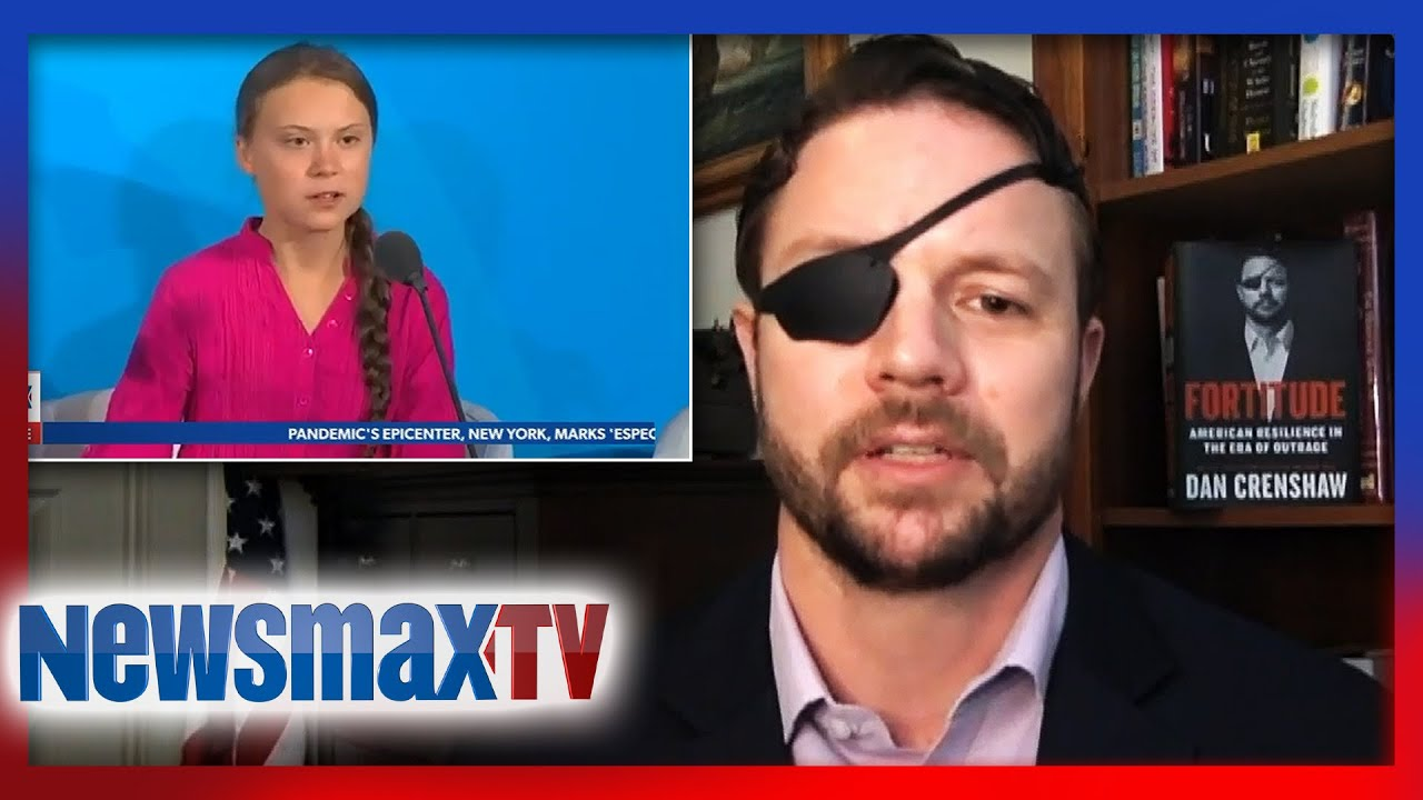 'Emotional manipulation': Dan Crenshaw sounds off on Greta Thunberg