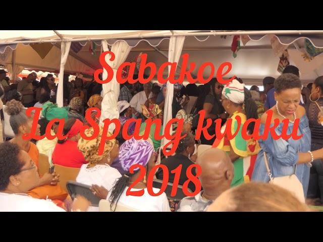 Sabakoe la spang kwaku 2018